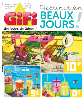 Catalogue GiFi 25 Avril au 03 Mai 2017