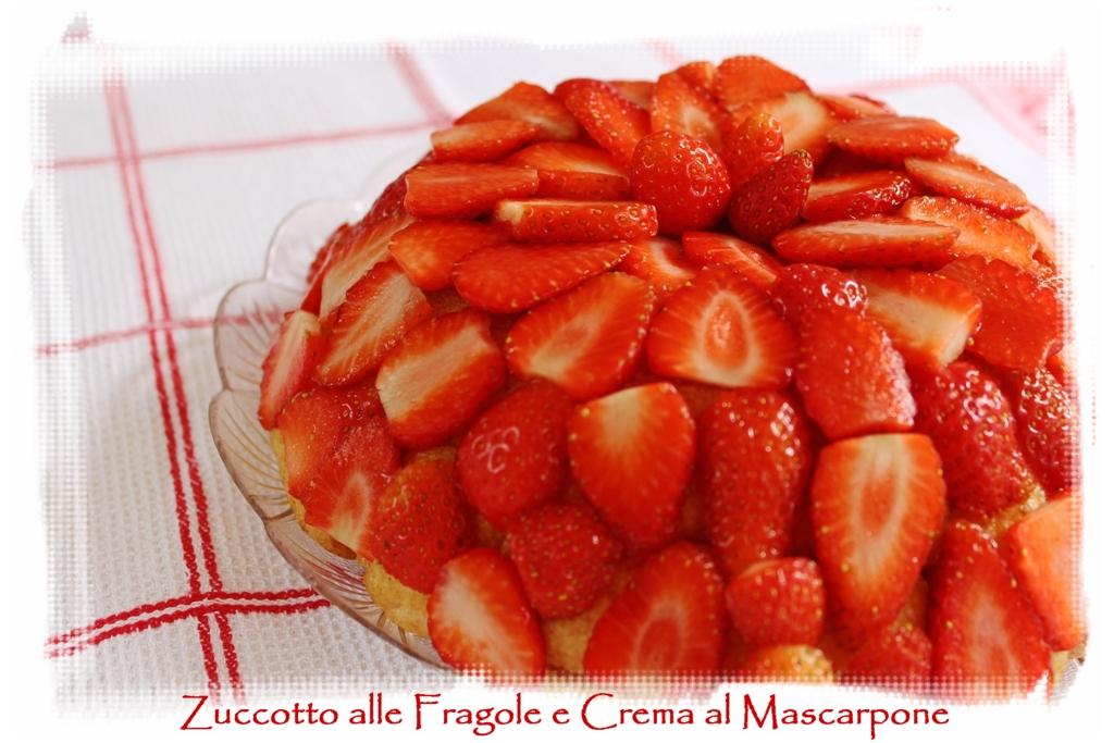 Desperate houseblogger zuccotto alle fragole e crema al for Decorazione zuccotto