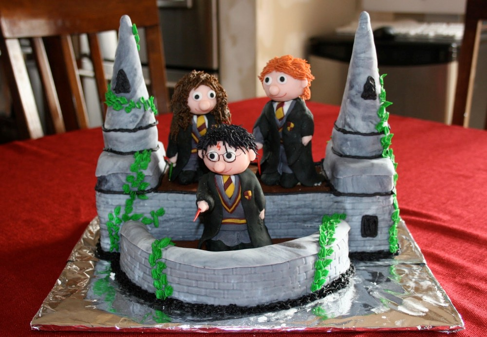 Themed Cakes, Birthday Cakes, Wedding Cakes: Harry Potter