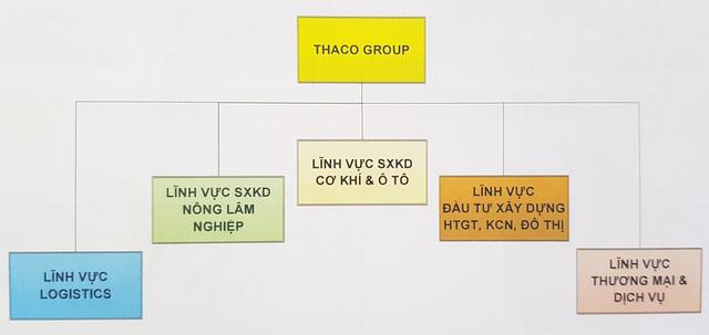 Mô hình Thaco Group theo hướng holdings.