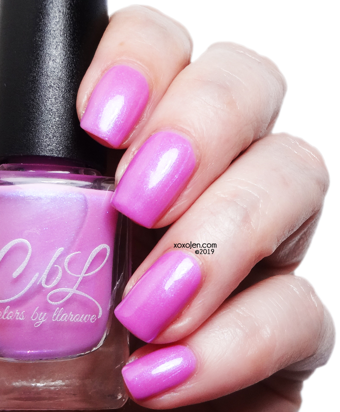 xoxoJen's swatch of Colors By Llarowe I'm SO Sure!