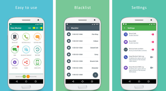 free download Blacklist - Call and SMS blocker apk