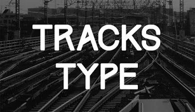 tracks free font