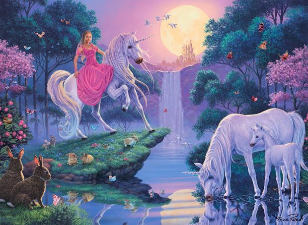 Magical Fairy Tale Unicorn