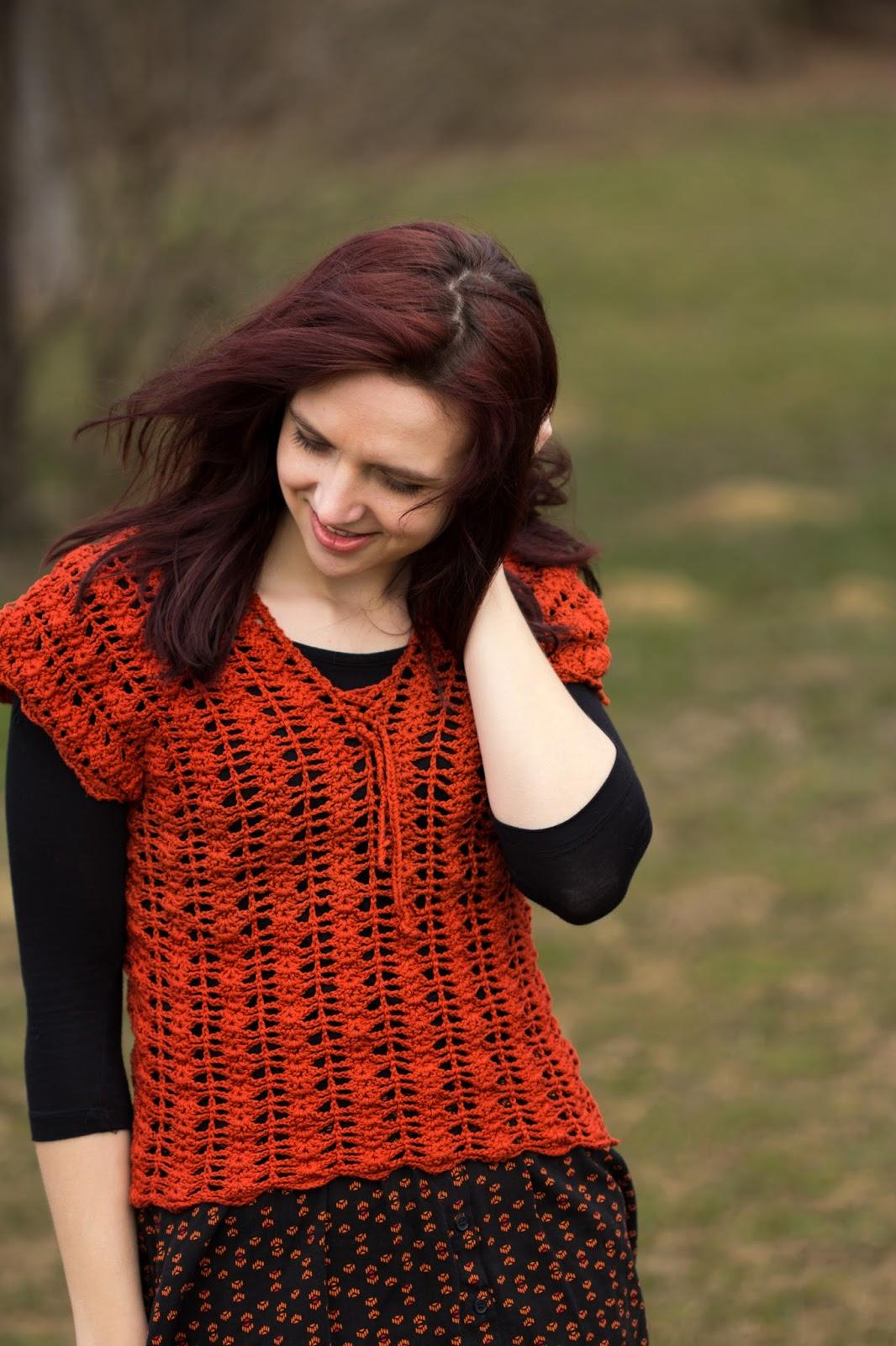 crochet top diy handmade