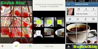Cara membuat instagram grid secara gampang