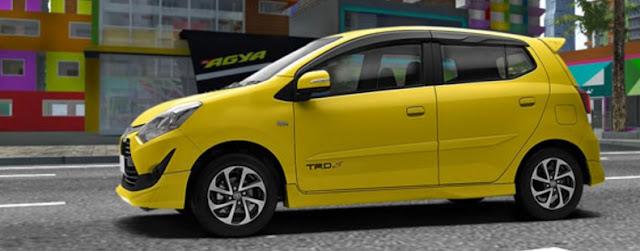 Harga Kredit New Toyota Agya Facelift 2017