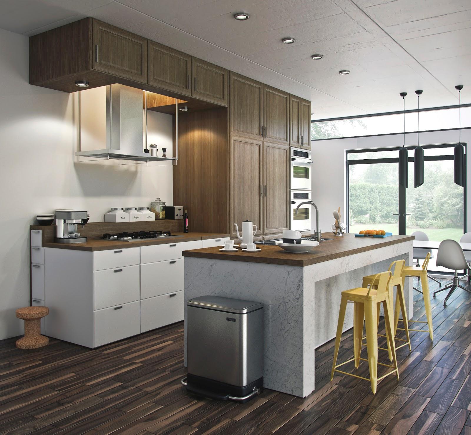 Vray Kitchen Modeling