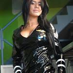 Andrea Rincon, Selena Spice Galeria 5 : Vestido De Latex Negro Foto 132