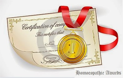 Homeopathic awards