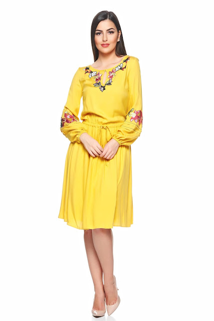 Rochie LaDonna Autumn Beauty Yellow