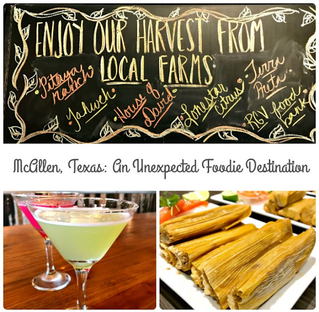 McAllen, Texas has become an unexpected culinary incubator in southern Texas- melding traditional Tex Mex & Mexican cuisine with a Texan twist on the farm to table dining experience.