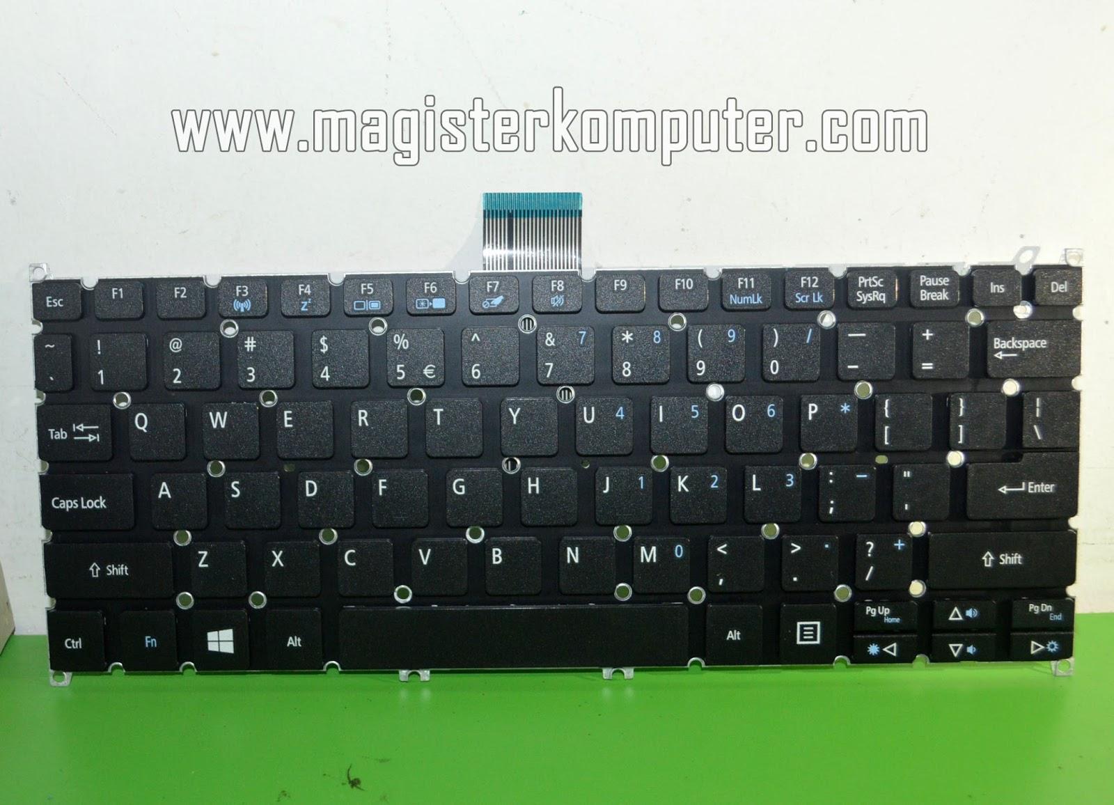 Jual Keyboard Acer Aspire One 725 726 756 V5 131 121 Laptop 14 Z1401 Z1402 E3 111 112 E11
