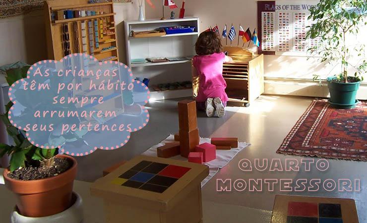 decoração de quarto montessori