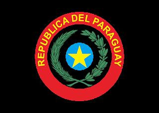 ESCUDO PARAGUAY FRENTE Logo Vector