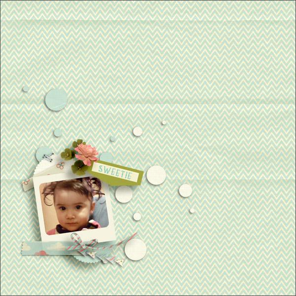 sweetie © sylvia • sro 2016 • you is kind • love it scrap it designs