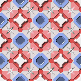 Final 3D Geometric Shapes Pattern