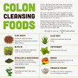 Infographic: Colon Cleansing Foods