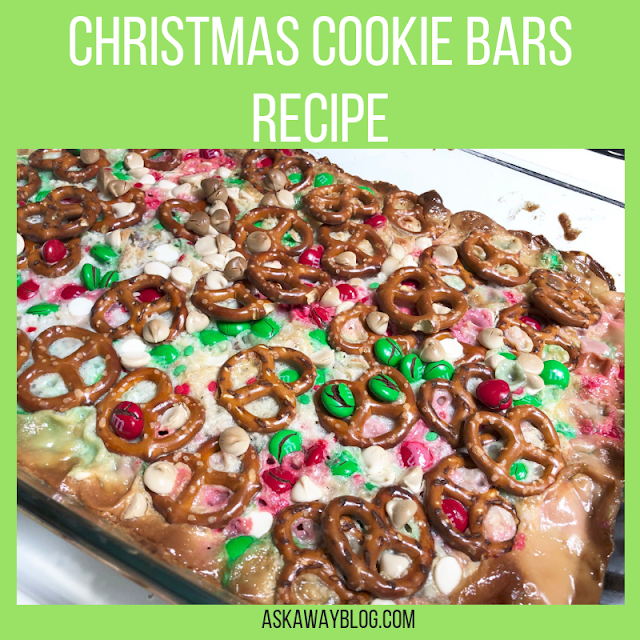 Easy Christmas Cookie Bars Recipe