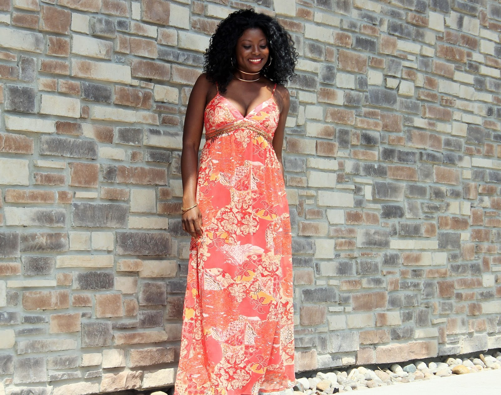 MAXI DRESS: THE CHOSEN ONE FOR A SUMMER STAYCATION AT ALOFT