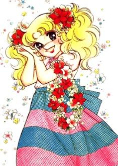 Dibujo de Candy llena de flores