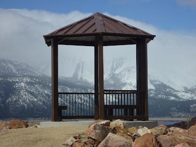 Gazebo southest of Washoe Lake