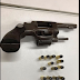 Elemento é detido por posse ilegal de arma de fogo e munição em São Caetano, PE