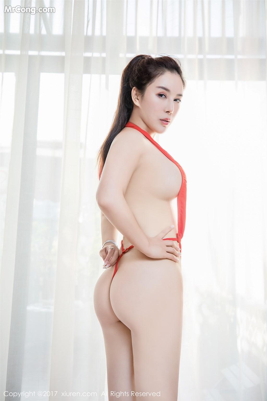 Image XIUREN-No.839-Xue-Qian-Xun-MrCong.com-033 in post XIUREN No.839: Người mẫu Xue Qian Xun (雪千寻) (44 ảnh)