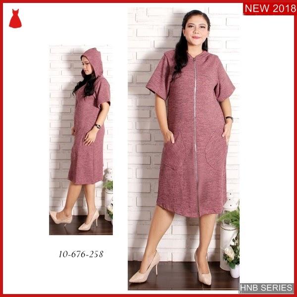 HNB029 Model Merda Pocket Dress Terusanukuran Besar Jumbo BMG Shop