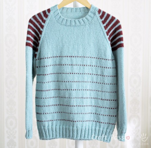 Raglan Pullover - Free Pattern