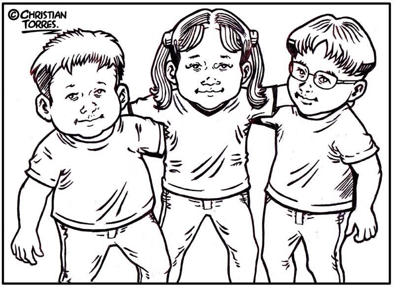 Grupos De Niños Para Colorear: Escuela De Ministerios Prácticos: Foro Social Grupo 001