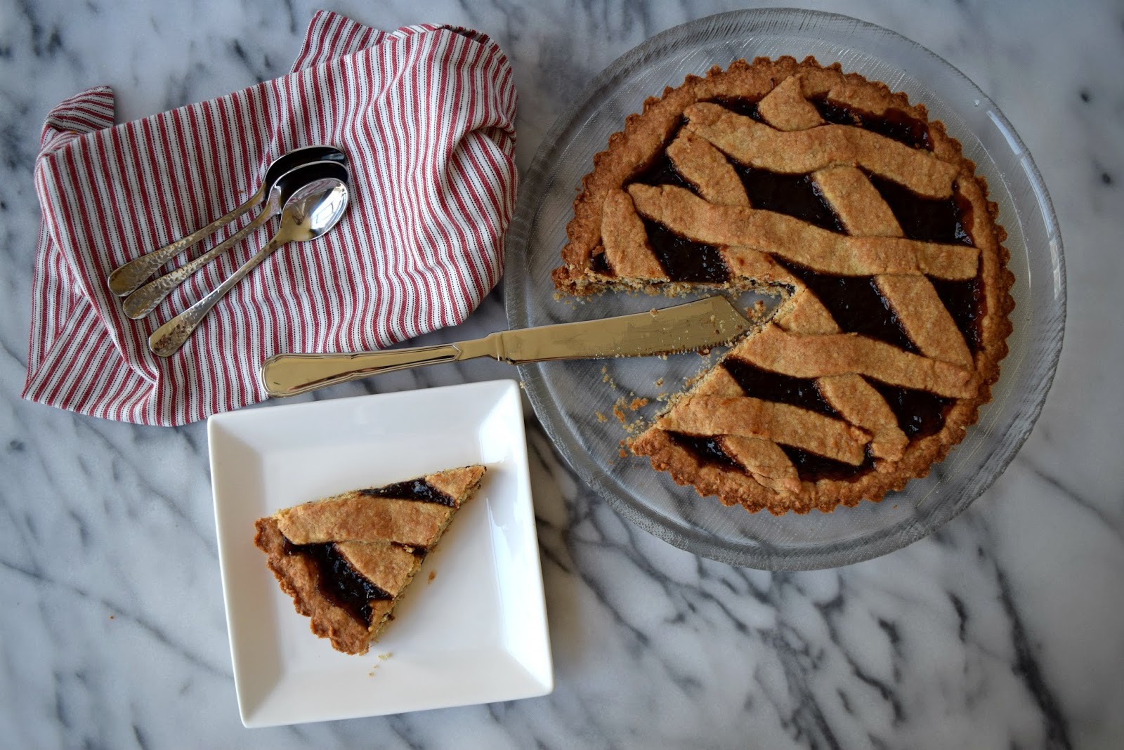 Wholewheat crostata