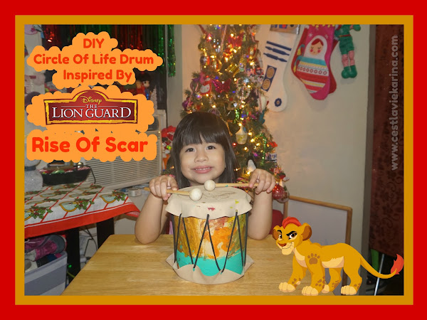 DIY Circle Of Life Drum Inspired by Disney The Lion Guard: Rise Of Scar & A Giveaway