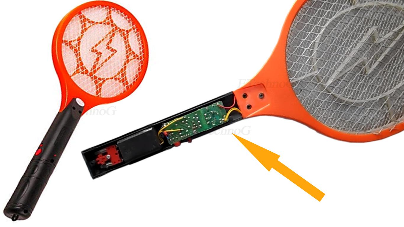 Mosquito Killer Bat Circuit Diagram and Working Principle - ETechnoG
