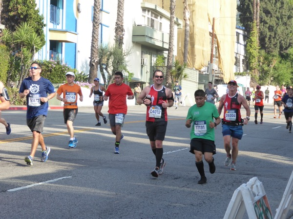 2017 LA Marathon runners
