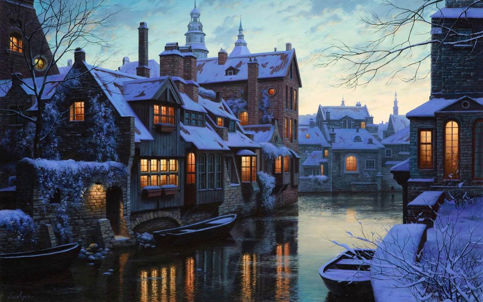 Bruges Winter