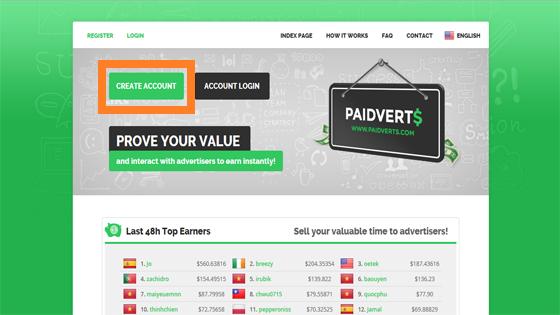 abrir una cuenta en paidverts