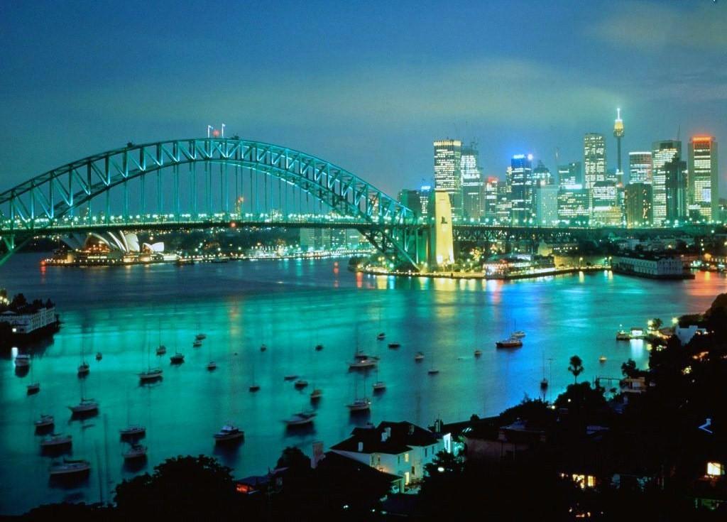 Australia Tourism Australia Tourist Attractions Map Of