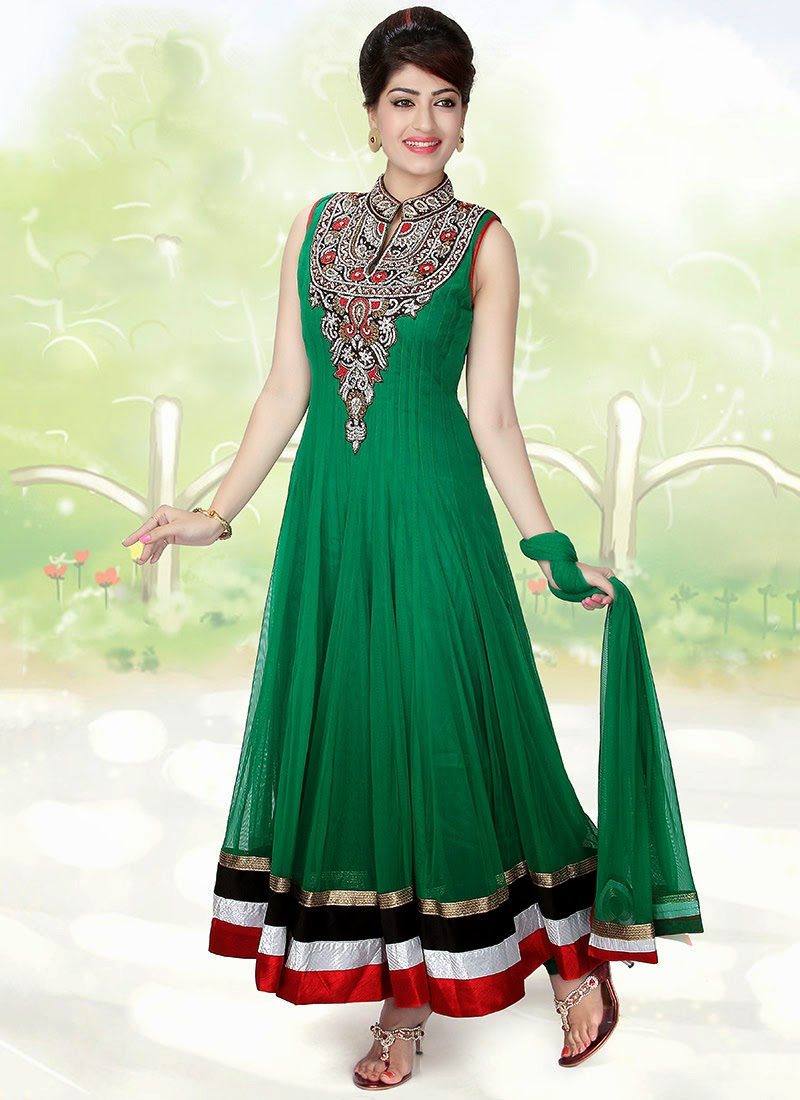Weddingl Anarkali Dresses 2013 With New Designs