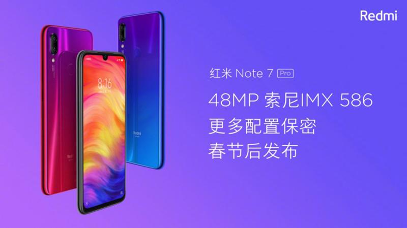 Xiaomi Redmi Note 7 Pro specs spotted on TENAA