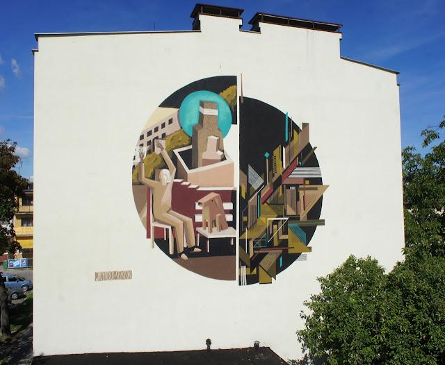 Street Art Collaboration By Jacyndol And Seikon In Gdynia, Poland. 4