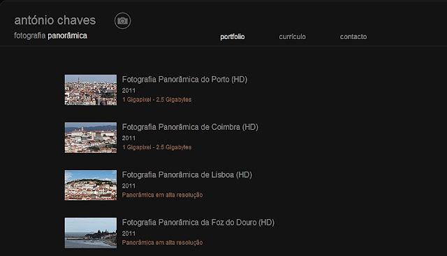 ANTÓNIO CHAVES: Fotografias 360º