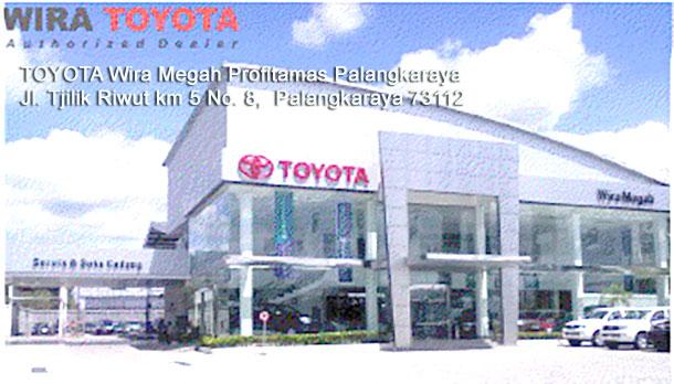 Harga Mobil TOYOTA Wira Megah PALANGKARAYA
