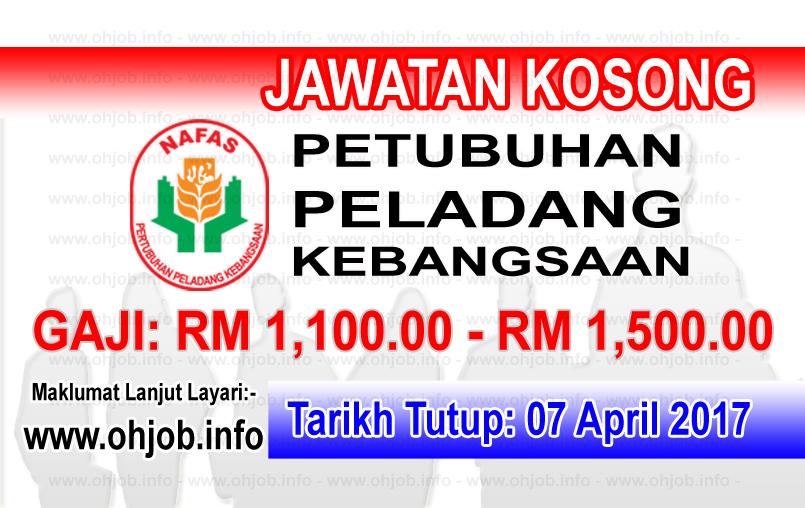 Jawatan Kerja Kosong NAFAS - Pertubuhan Peladang Kebangsaan logo www.ohjob.info april 2017