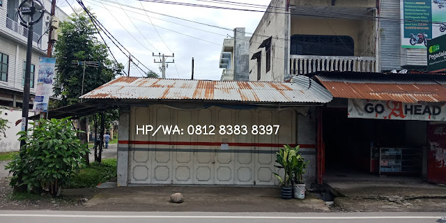 Jual Murah Tanah Dan Bangunan Letak Strategis Di Jl. Ayahanda Medan Sumatera Utara