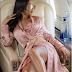 Baby Girl for life! Toke Makinwa looks hot  In Thigh High Slit Dress
