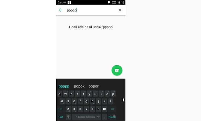 Cara Mengakali Tombol Huruf P Tidak Berfungsi Pada Keyboard Layar Sentuh HP Android