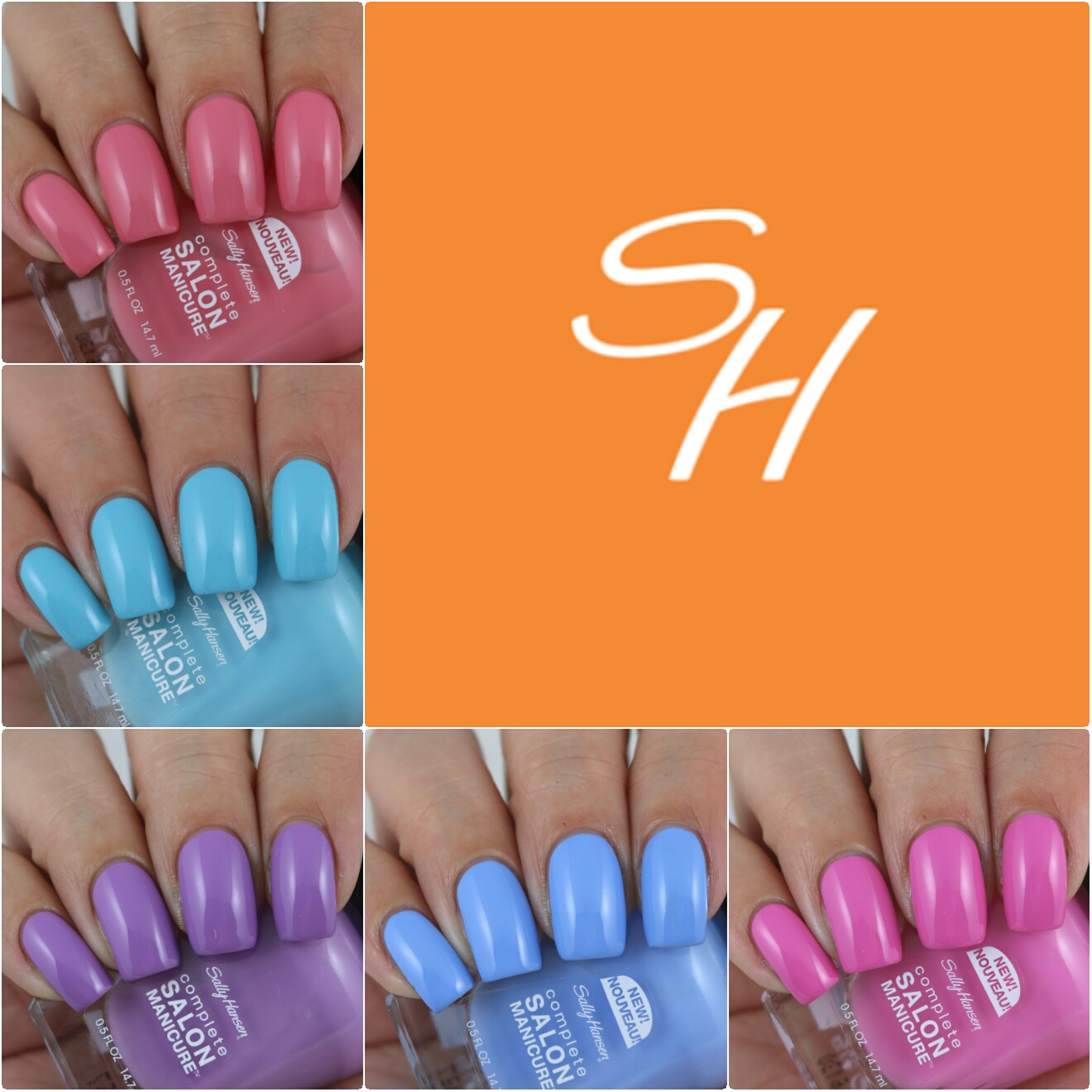 Olivia jade nails sally hansen complete salon manicure for Salon complet but
