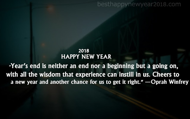 New Year 2018 Inspirational Quotes