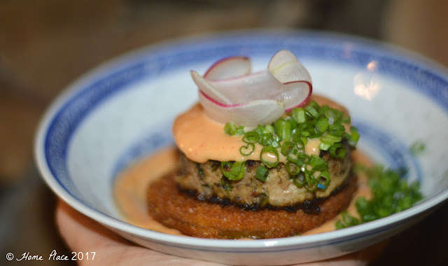 The Cook and The Bear Pork Rillette and Fried Green Tomatoes